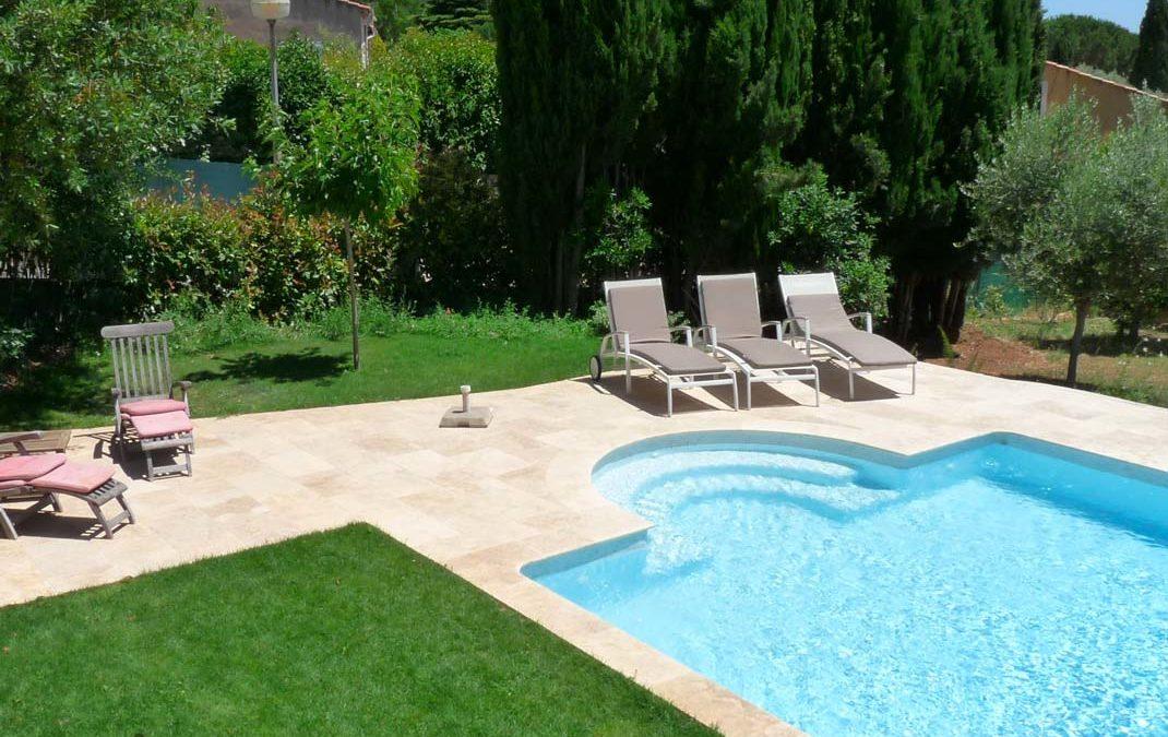 Aménagement d'un espace piscine
